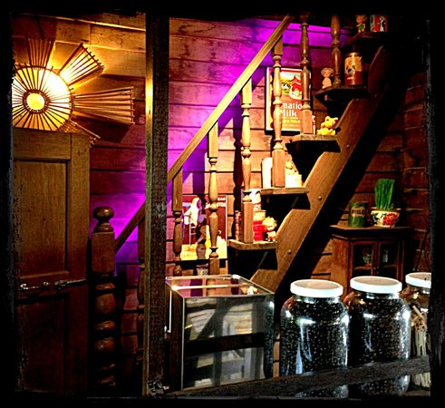 Baan Rabiang Nam or River Tree House : Little coffee corner