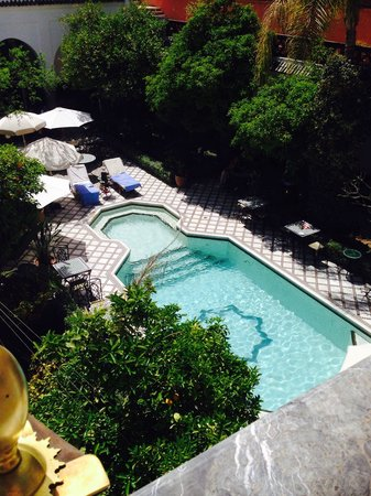 Palais Donab: Refreshing pool