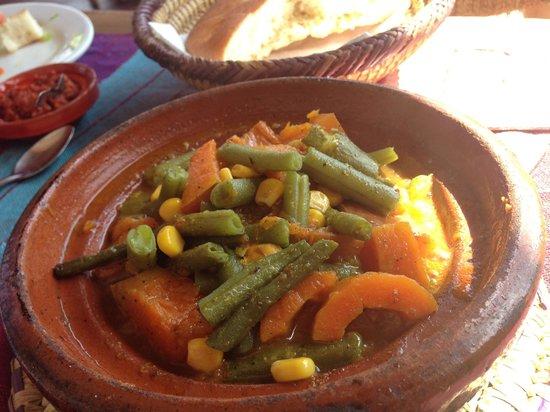 Cafe Terrasse Palais El Badia : veg tagine