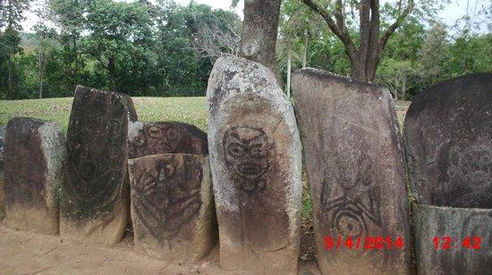 Parque Ceremonial Indigena de Caguana : Petroglyphs