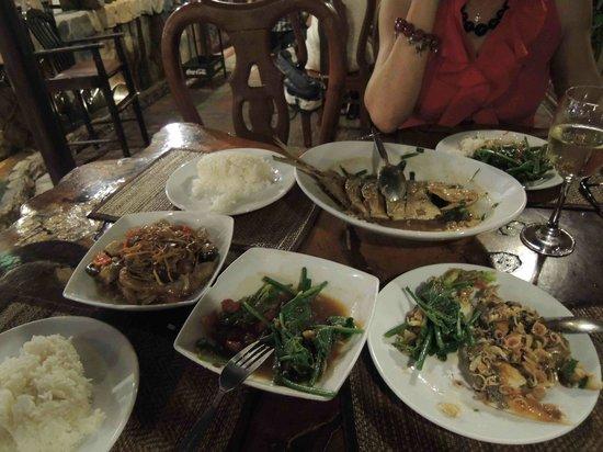 Natural Restaurant: exemple de plats