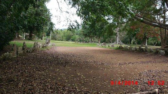 Parque Ceremonial Indigena de Caguana : Ball field