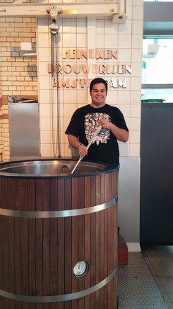 Heineken Experience: Fake beer making