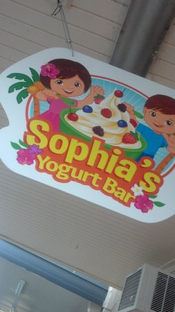 Sophia's Yogurt Bar