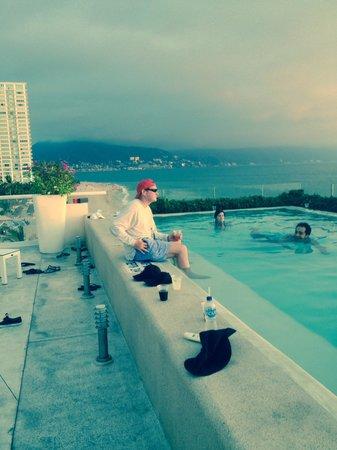 Hilton Puerto Vallarta Resort: From the infinity pool