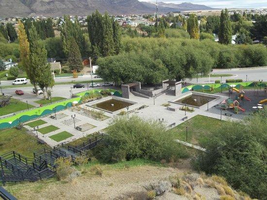 El Calafate, Plaza de los Pioneros: Vista de la Plaza de los Pioneros