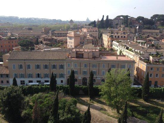 Kolbe Hotel Rome : hotel from palatine hill