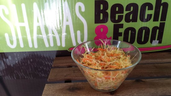 SHAKAS Beach&Food : ensalada de col