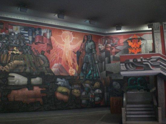 Casa del Arte - Pinacoteca : painel