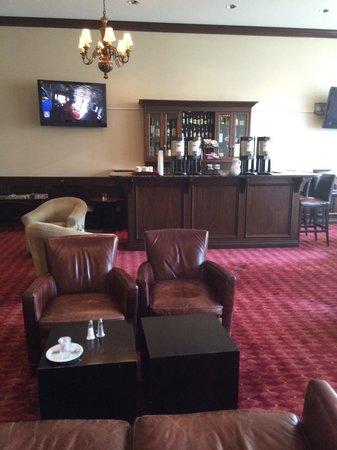 The Grand Hotel : Hotel bar . . .