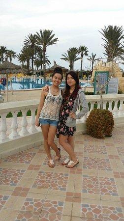 Houda Golf and Beach Club: poolside pic