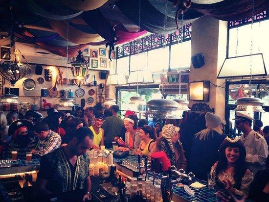 Tangier Bar: Purim 2014 at Tangier
