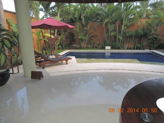 The Kunja Villas & Spa: From the dinning table