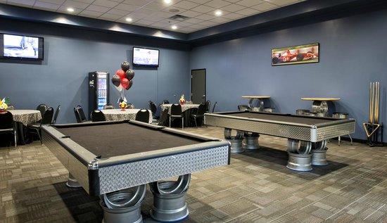 Octane Raceway: Billiards Room