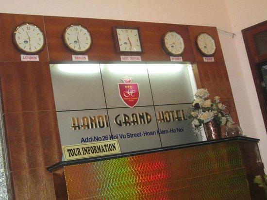Hanoi Grand Hotel : hall