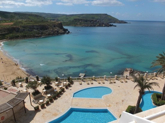 Radisson Blu Resort & Spa, Malta Golden Sands : View from Apartment