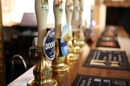 The Stonemasons Inn: Local ales sourced from Sussex and beyond