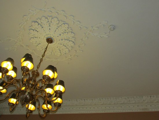 Albany House : Ceiling in Breakfast Room