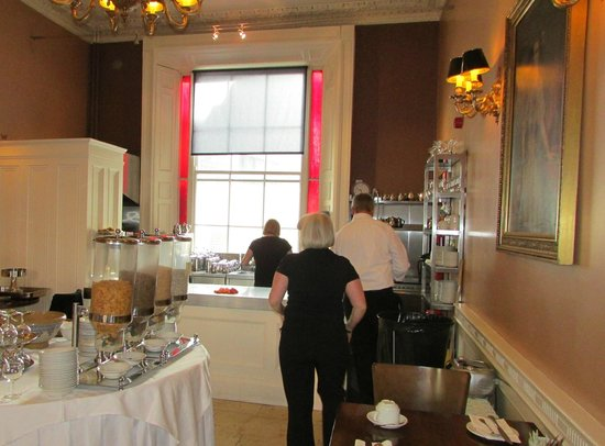 Albany House: Kitchen and Staff