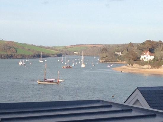Salcombe Harbour Hotel & Spa: View from Room 316
