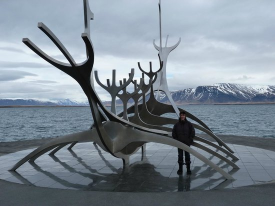 Solfar (Sun Voyager) Sculpture: you have to see this.