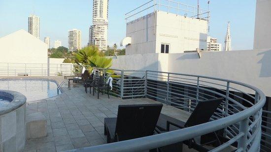 DoubleTree By Hilton Panama City: Pool Deck
