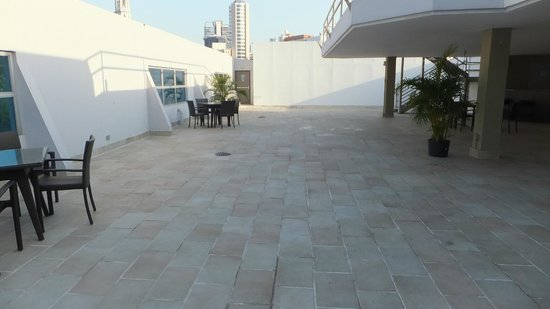 DoubleTree By Hilton Panama City: Top Roof Deck Area
