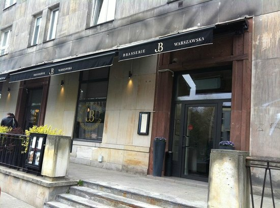 Brasserie Warszawska : ordinary building
