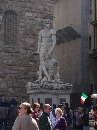 Piazza della Signoria : Hercules