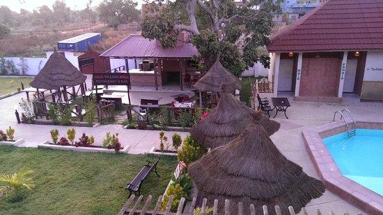 Bamboo Garden Hotel: uitzicht