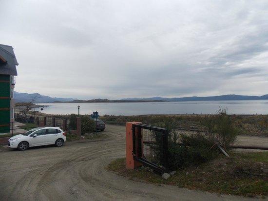 Costa Ushuaia : Vista desde el ingreso al Hotel
