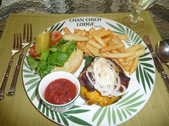 Chan Chich Lodge: Good food