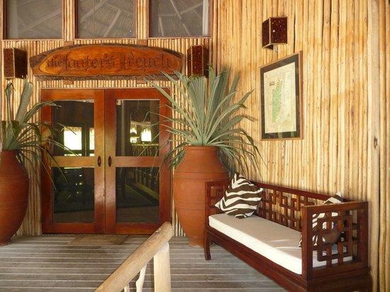 Chan Chich Lodge: Entrance