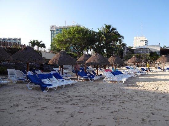 Grand Park Royal Cozumel: Beach