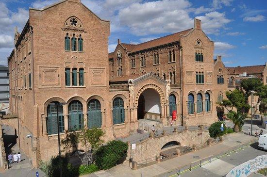 Recinte Modernista de Sant Pau: Pabellón del Convento