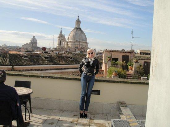 Antica Dimora delle Cinque Lune : И опять про еду на крыше