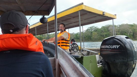 Panama Canal Boat Eco Tour : Captain