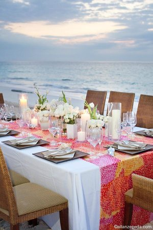 Elbow Beach, Bermuda: Private Beach Dinner