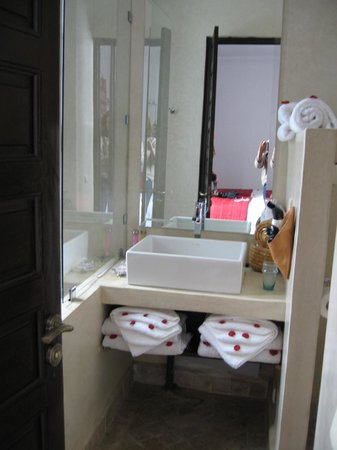 Riad Badi: bathroom