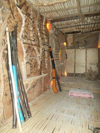 KT's Sinugba Sa Balay : Didgeridoo and flute wall