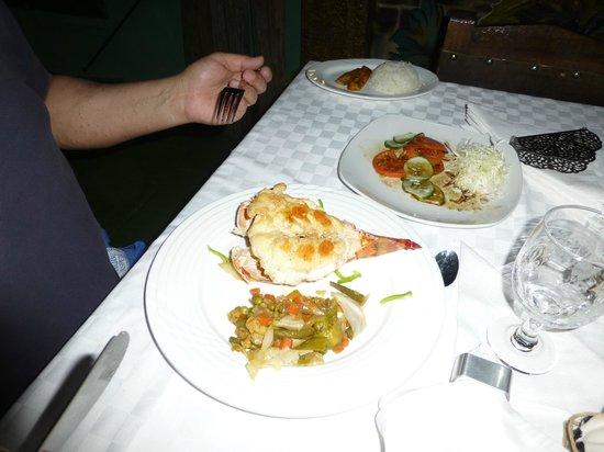 Hostal Casa La Milagrosa: Abendessen