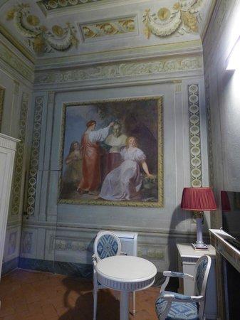 Palazzo Guicciardini: bedroom