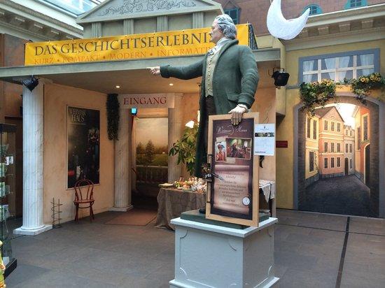 Weimar Haus: Eingang zum Erlebnismuseum