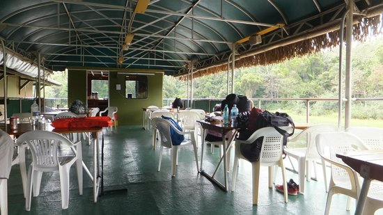 Panama Canal Boat Eco Tour: Dining Area 1
