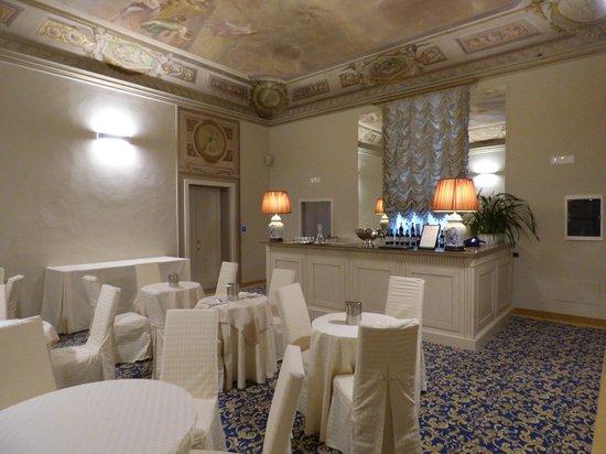 Palazzo Guicciardini: breakfast area