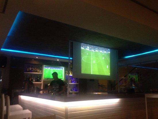 Aphrodite Restaurant: Football