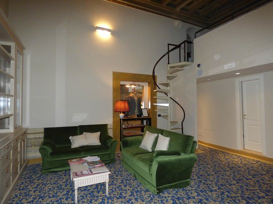Palazzo Guicciardini: lounge area