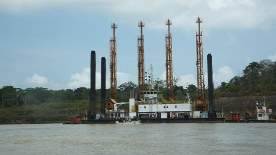 Panama Canal Boat Eco Tour: Part of Panama Canal Expansion