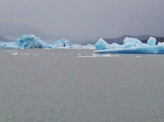 Estancia Cristina: Navegando al Upsala