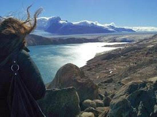 Estancia Cristina: Glaciar Upsala - llagamos en 4x4